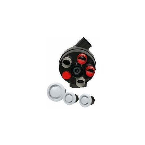 Kit VMC autoajustable modelo Penta, Vape, 4 boquillas y 3 bocas