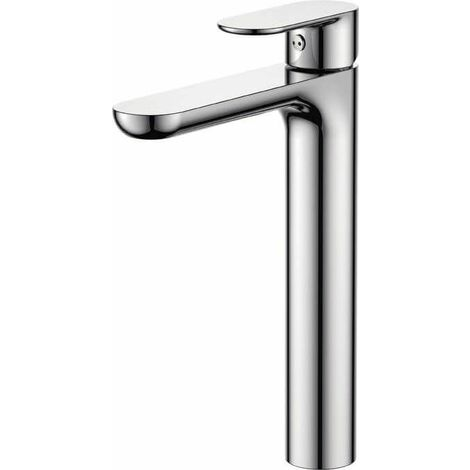 Grifo de lavabo alto pica monomando cromo serie Turia - VALAZ