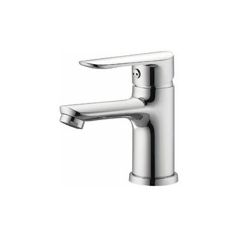 Grifo de lavabo monomando económico cromo serie Jarama - VALAZ