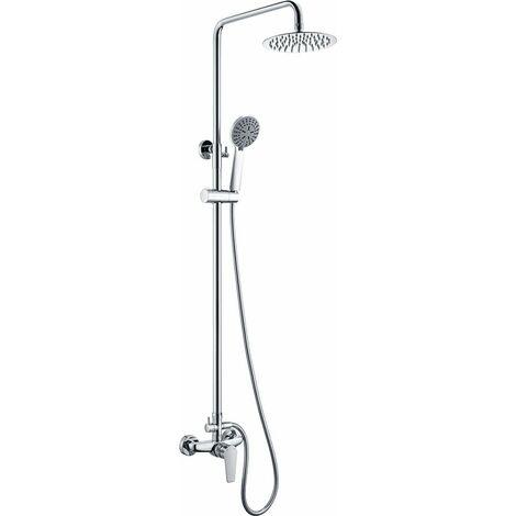 Barra de ducha acero inoxidable monomando serie Teide - IMEX