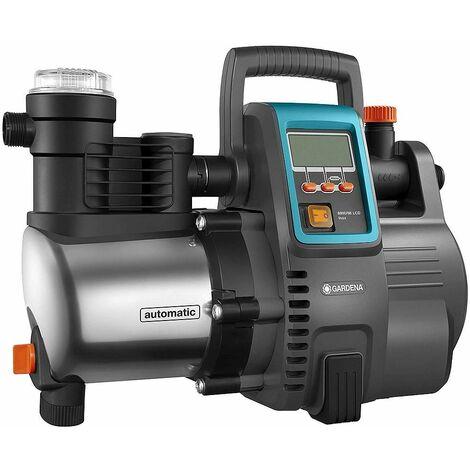 Gardena - Automatische Pumpe 1300W 6000 L/h Ansaugung Ansaugung max. 8 m - 6000/6E LCD -