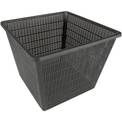 Cesta para plantas acuáticas de polipropileno de 30 x 30 cm