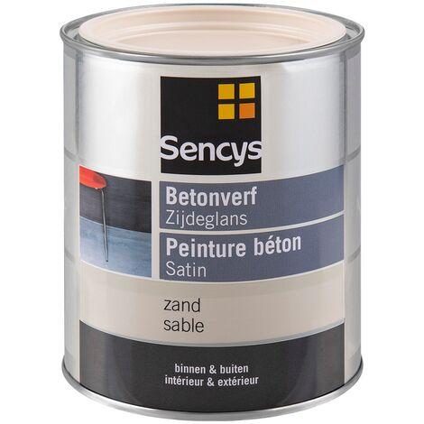 2,5L gris hormigón Sencys semi-brillante barniz oscuro pinturas