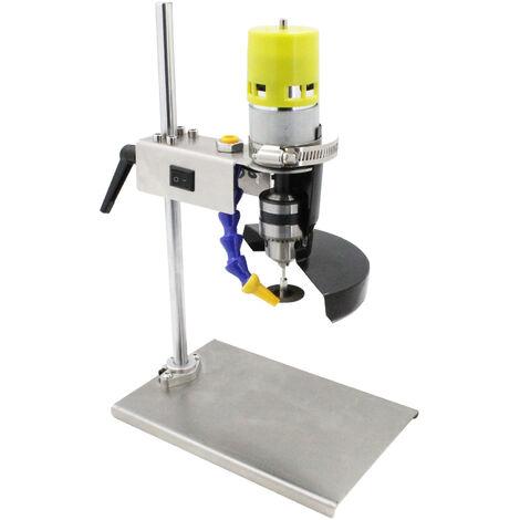 Taglierina per bottiglie di vino elettrico, tagliatrice di vetro, puntatore, strumento di taglio bottiglia di vetro, regolabile a 7 velocita