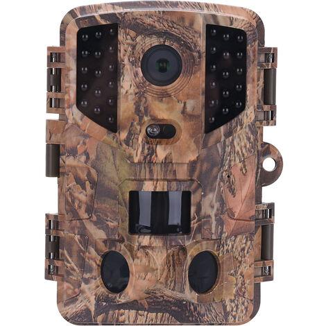 20MP 1080P HD Caméra de Chasse, Caméra de Surveillance IP67 Étanche, Grand Angle 120°, Vision Nocturne de 20m pour Animaux, Chasse, Nature, Jardin, Ferme