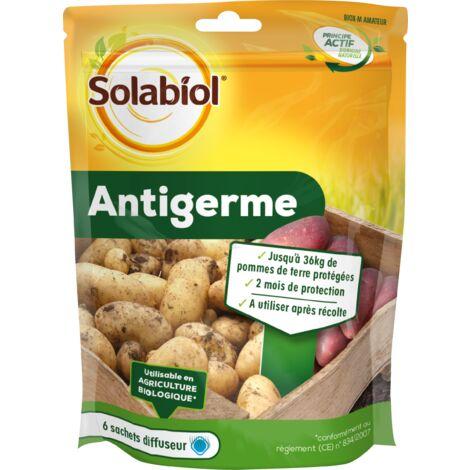 SOLABIOL SOGERM90 Anti-Germe Pomme de Terre-6 Sachets diffuseurs-Jusqu'à 36 Kg protégés Après Récolte | Utilisable en Agriculture Biologique