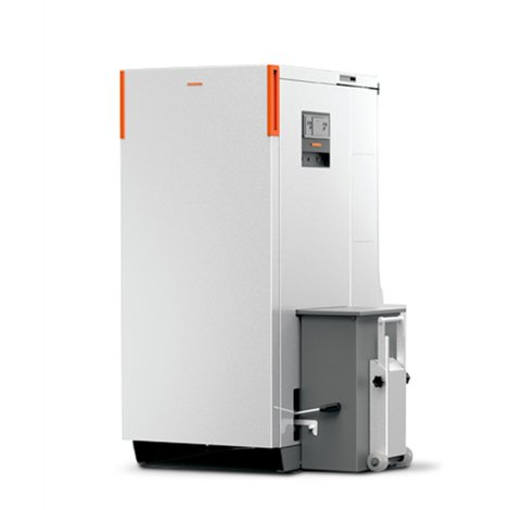 Caldaia a pellet Thermorossi CompactMatic S32 class5 silver 29,40 kW