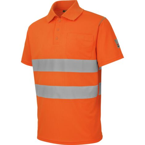 Polo de travail Würth MODYF haute-visibilité orange