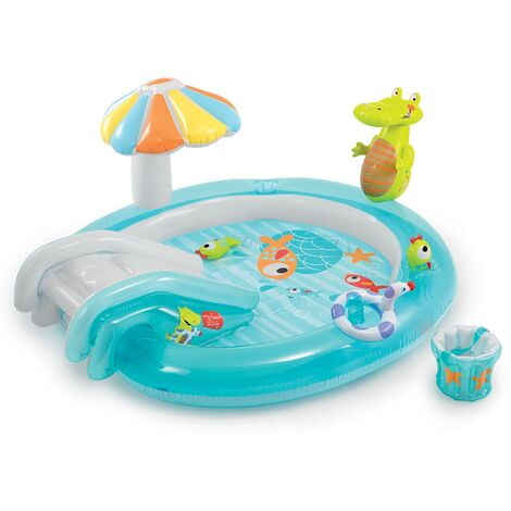 Zona de juegos hinchable Intex Alligator