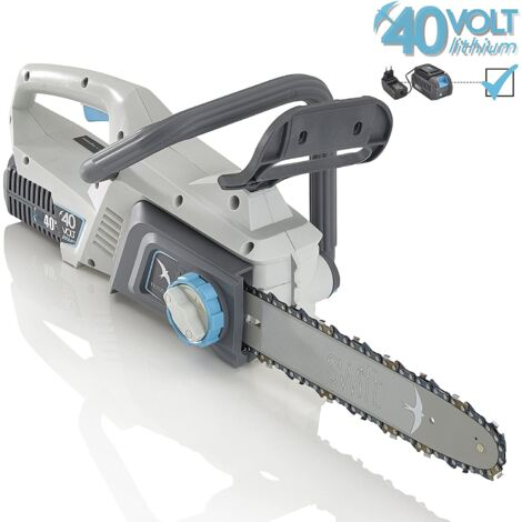 "(kit) Swift 40V Cordless 12"" Lightweight Chainsaw"