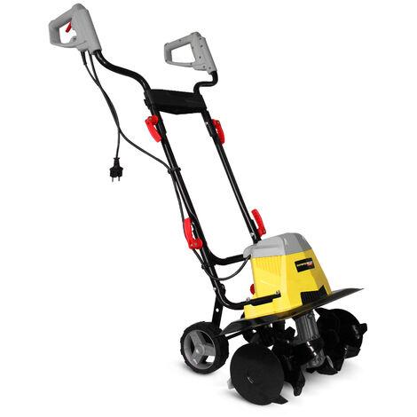 Gardeo GMTBE1506W - Motozappa elettrica 1500W - larghezza lavoro 40 cm - garanzia 3 anni