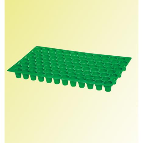 Plaque de culture Multitopf - la plaque de 73 alvéoles 50 x 30 x 5 cm - Pour réussir vos semis et vos boutures