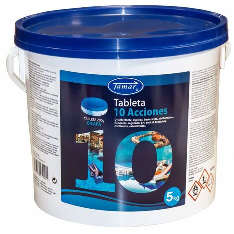 Cloro tabletas 10 acciones Tamar 5 kg