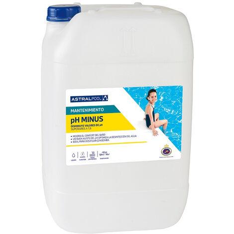Minorador pH Minus Líquido AstralPool 20L.
