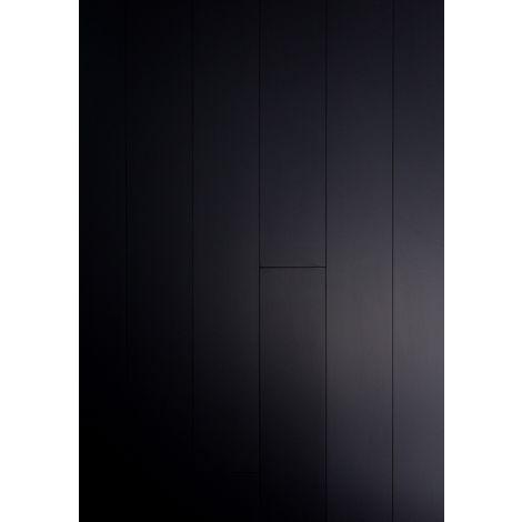 Parquet Massif Bambou Haute Pression - Noir - Compatible Pièces Humides - larg. 13 cm | 2.40 mètre carré