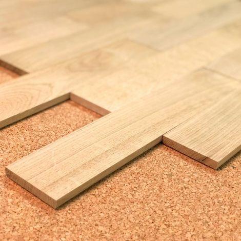 Planchette Chêne brut Grade AB 60x300 | 2.07 mètre carré