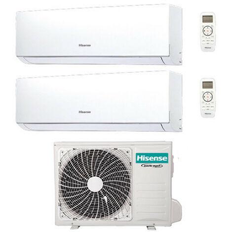 Climatizzatore Condizionatore Hisense New Comfort R32 Dual Split Inverter 9000 + 12000 BTU con U.E. 2AMW42U4RRA Classe A++/A+ | 206237-defaultCombination