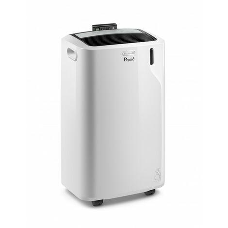 De'Longhi Aire Acondicionado Portátil PACEM90 ECOSilent. Ventilador y Deshumidificador. Control Remoto. Refrigeración 9800 BTU