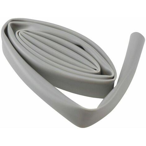 Rouleau 3m gaine faisceau électrique gris 10mm x 12mm protection fil