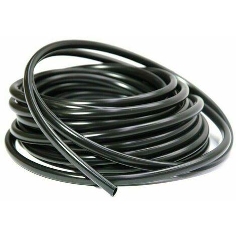 Rouleau 3m gaine faisceau électrique noir 8mm x 9mm protection fil