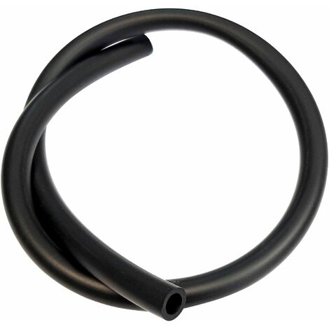 Durite essence noire 6mm longueur 1m haute qualité spéciale hydrocarbure tuyau carburant