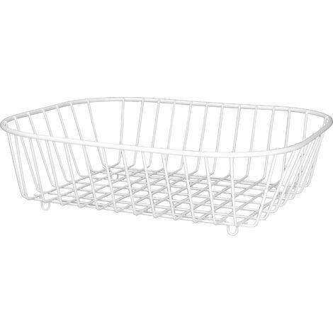 White Sink Basket   M&W