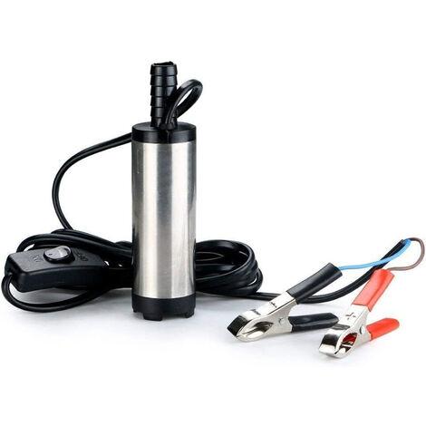 Pompa sommersa trasferimento olio acqua gasolio carburante 12v 60w pumps