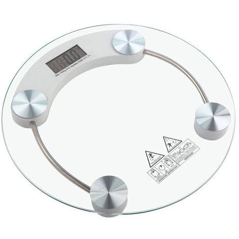 Bilancia pesapersone digitale in vetro elettronica professionale 180KG 2003A