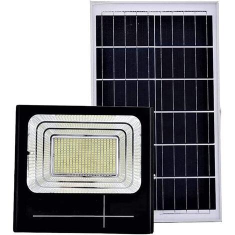 Faro led 200W con pannello solare luce fredda faretto led casa giardino esterno