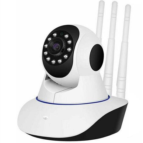 Telecamera IP motorizzata WIFI 3 antenne HD registra micro sd controllo app