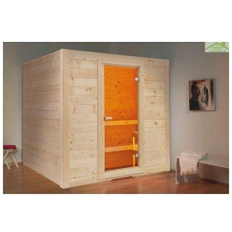 Cabine de Sauna BASIC MEDIUM de SENTIOTEC 195x156 cm