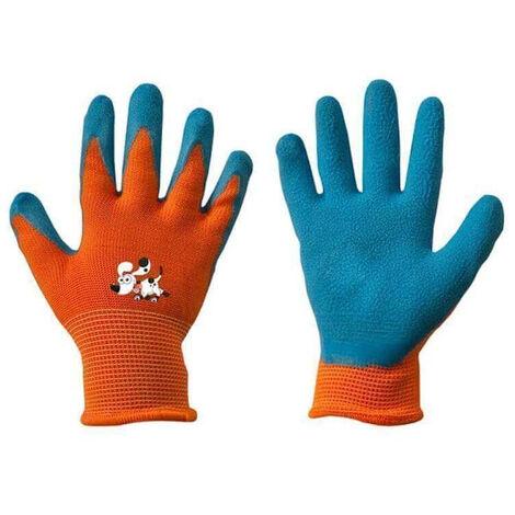 Kinder Schutzhandschuhe Latex Garten Handschuhe Arbeitshandschuhe Gr. 6 1 Paar