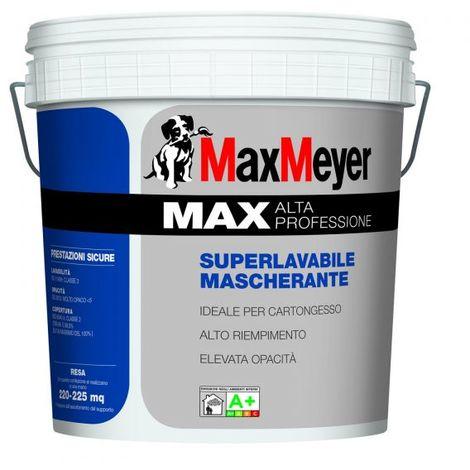 MAX A+ IDROPITTURA BIANCA PITTURA LAVABILE MASCHERANTE COPRENTE MAX MEYER