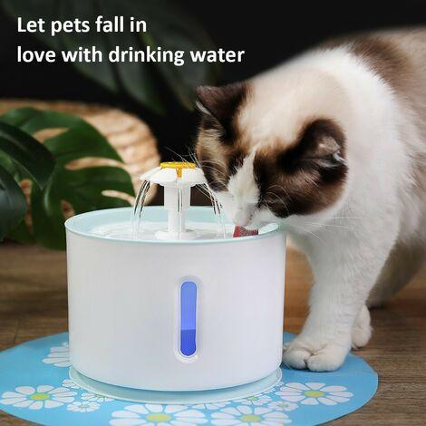 Fontaine à eau 2.5L pour chien et chat distributeur automatique