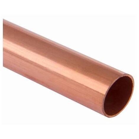 tubo di rame 3/8 metri di taglio non isolati