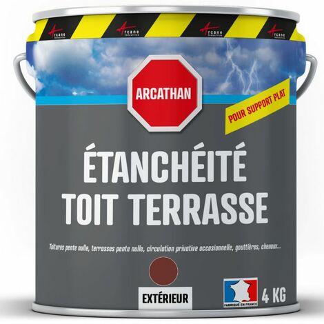 ETANCHEITE TOITURE TERRASSE PLATE - résine Pu Haute Performance - ARCATHAN