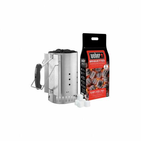 Kit WEBER - cheminée d'allumage - Rapidfire - 3 en 1