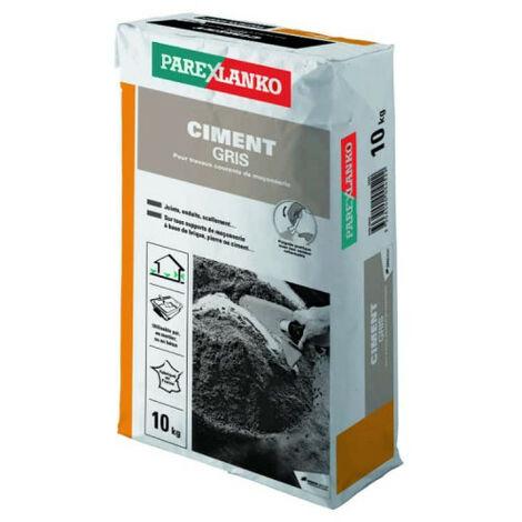 Ciment PAREXLANKO - Gris - 10kg - 02838