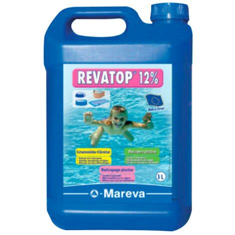 Algicide MAREVA REVATOP 12 % - 5 L - 000124U - Bleu