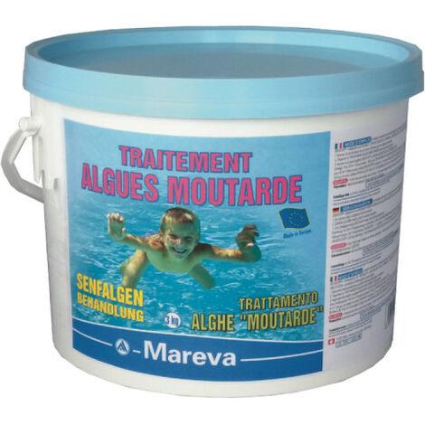 Traitement algues moutarde MAREVA pour piscine infectée - 3 kg - 150084U