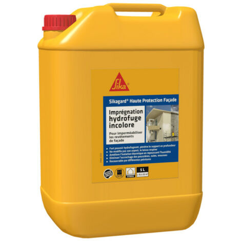Hydrofuge concentré SIKA Sikagard Haute Protection Façade