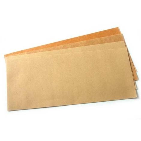 feuille joint plat papier huilé à découper 475x210 mm - lot de 4
