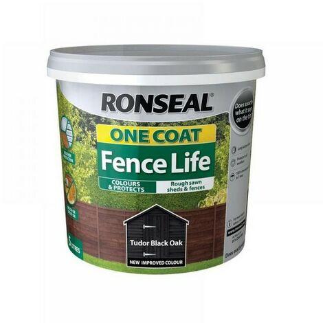 RONFENCELIFETBO - Ronseal Fencelife Tudor Black Oak 5L