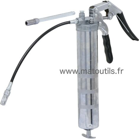 POMPE À GRAISSE 1 MAIN PROFESSIONNEL 400 Ml - MA0312