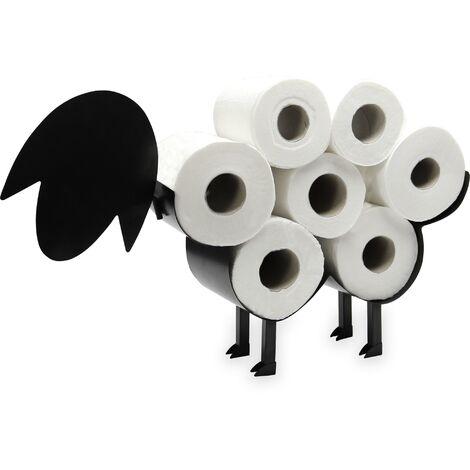 Support de rouleau de toilette de mouton de Pukkr