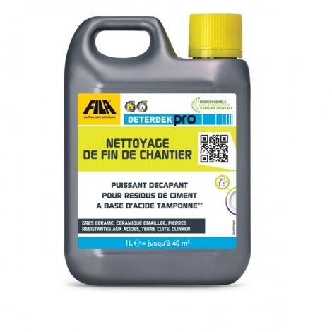 Nettoyant acide pour sols 1L DETERDEK Pro - FILA