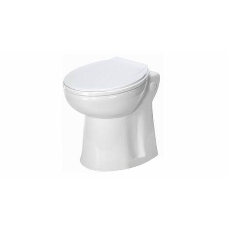 WC compact avec broyeur à pompe centrifuge intégrée - Fabrication Francaise
