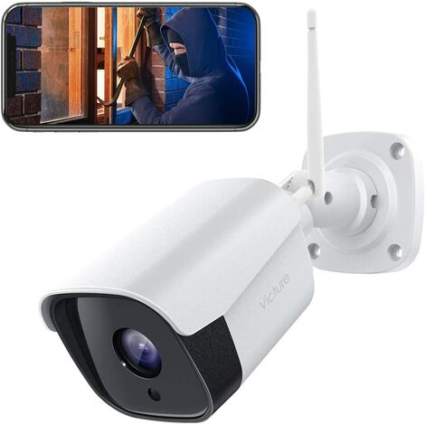 1080P Wireless Outdoor Security Camera for Home Security with Motion Detection Night Vision Waterproof IP66