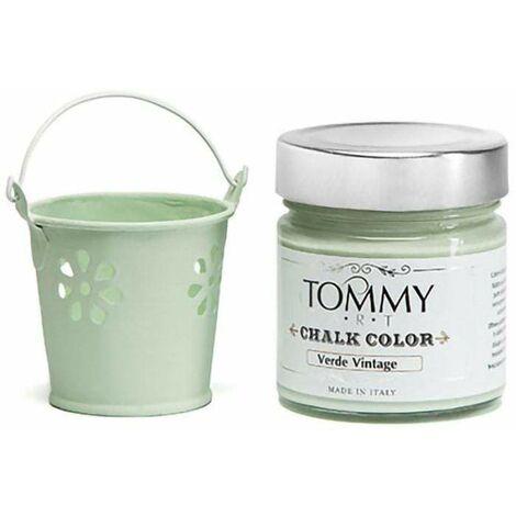 Vernice shabby chic chalk verde vintage ml.200 - Verde Vintage