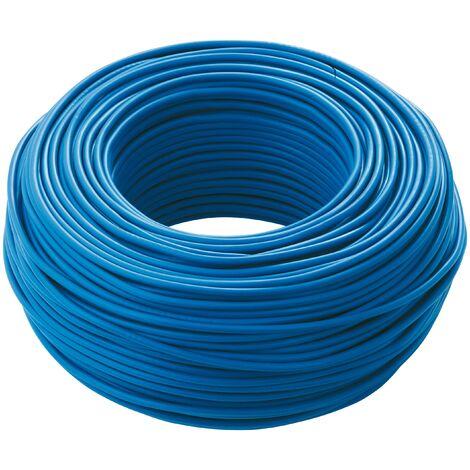 Cavo unipolare antifiamma FS17 1X1,5mmq Blu Matassa 100 Mt Cavi